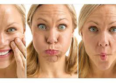 جوانی چهره با یکسری حرکات پیشنهادی یوگای صورت