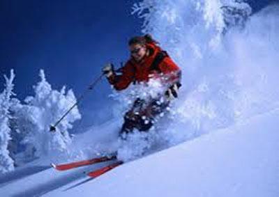 پوست و ورزش اسکی
