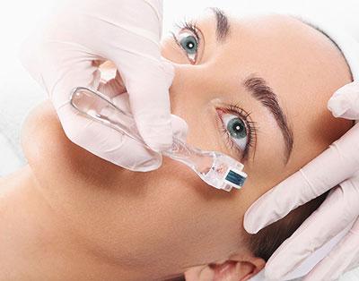 درمان تیرگی زیر چشم با درمارولر