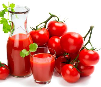تاثیر شگفت انگیز گوجه فرنگی بر روی پوست