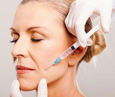 درمان چين و چروك صورت با تزريق بوتاكس
